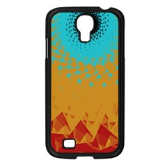 Bluesunfractal Samsung Galaxy S4 I9500/ I9505 Case (Black)