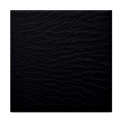 Black Pattern Sand Surface Texture Tile Coasters
