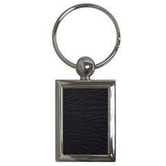 Black Pattern Sand Surface Texture Key Chains (rectangle)