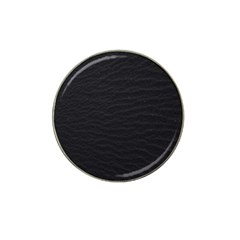 Black Pattern Sand Surface Texture Hat Clip Ball Marker (4 Pack)