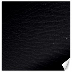 Black Pattern Sand Surface Texture Canvas 20  X 20