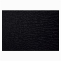 Black Pattern Sand Surface Texture Large Glasses Cloth