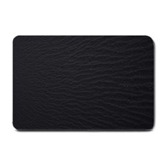 Black Pattern Sand Surface Texture Small Doormat