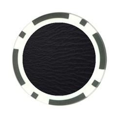 Black Pattern Sand Surface Texture Poker Chip Card Guard