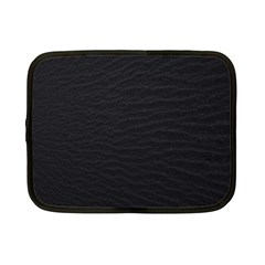 Black Pattern Sand Surface Texture Netbook Case (small)