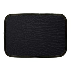 Black Pattern Sand Surface Texture Netbook Case (medium)