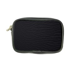 Black Pattern Sand Surface Texture Coin Purse
