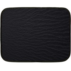 Black Pattern Sand Surface Texture Double Sided Fleece Blanket (mini)