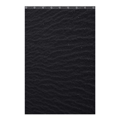 Black Pattern Sand Surface Texture Shower Curtain 48  X 72  (small)