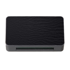 Black Pattern Sand Surface Texture Memory Card Reader With Cf