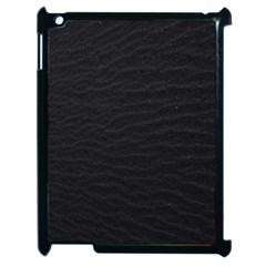 Black Pattern Sand Surface Texture Apple Ipad 2 Case (black)