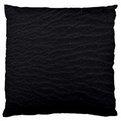 Black Pattern Sand Surface Texture Large Cushion Case (two Sides)