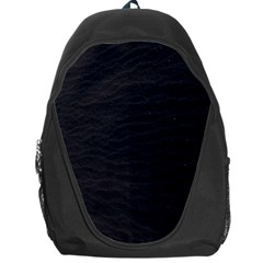 Black Pattern Sand Surface Texture Backpack Bag