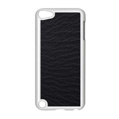 Black Pattern Sand Surface Texture Apple Ipod Touch 5 Case (white)