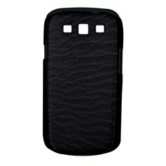 Black Pattern Sand Surface Texture Samsung Galaxy S Iii Classic Hardshell Case (pc+silicone)