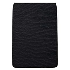 Black Pattern Sand Surface Texture Flap Covers (l)