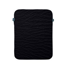 Black Pattern Sand Surface Texture Apple Ipad 2/3/4 Protective Soft Cases