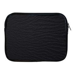 Black Pattern Sand Surface Texture Apple Ipad 2/3/4 Zipper Cases