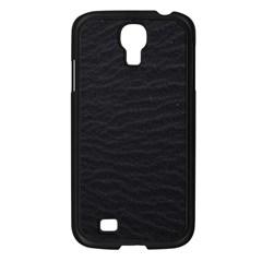 Black Pattern Sand Surface Texture Samsung Galaxy S4 I9500/ I9505 Case (black)