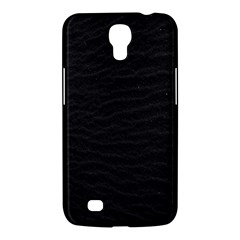 Black Pattern Sand Surface Texture Samsung Galaxy Mega 6 3  I9200 Hardshell Case