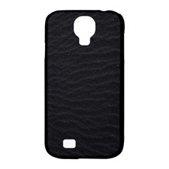 Black Pattern Sand Surface Texture Samsung Galaxy S4 Classic Hardshell Case (pc+silicone)