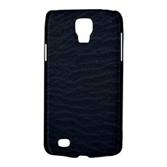 Black Pattern Sand Surface Texture Galaxy S4 Active