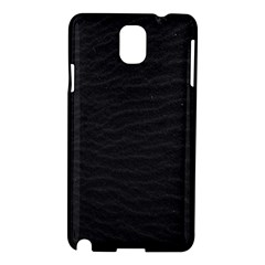 Black Pattern Sand Surface Texture Samsung Galaxy Note 3 N9005 Hardshell Case