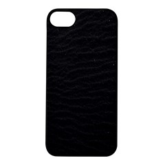 Black Pattern Sand Surface Texture Apple Iphone 5s/ Se Hardshell Case