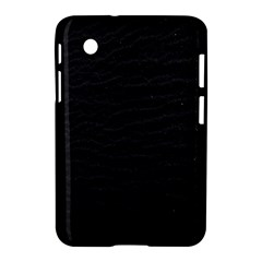 Black Pattern Sand Surface Texture Samsung Galaxy Tab 2 (7 ) P3100 Hardshell Case