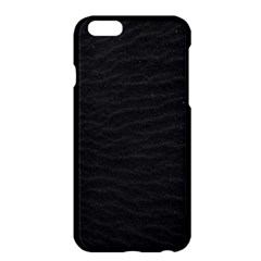 Black Pattern Sand Surface Texture Apple Iphone 6 Plus/6s Plus Hardshell Case