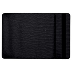 Black Pattern Sand Surface Texture Ipad Air 2 Flip