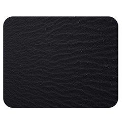 Black Pattern Sand Surface Texture Double Sided Flano Blanket (medium)