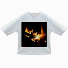 Bonfire Wood Night Hot Flame Heat Infant/toddler T Shirts