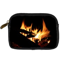 Bonfire Wood Night Hot Flame Heat Digital Camera Cases