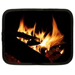 Bonfire Wood Night Hot Flame Heat Netbook Case (xxl)