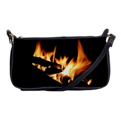 Bonfire Wood Night Hot Flame Heat Shoulder Clutch Bags