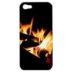 Bonfire Wood Night Hot Flame Heat Apple Iphone 5 Hardshell Case