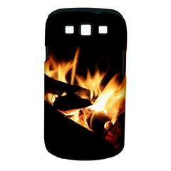 Bonfire Wood Night Hot Flame Heat Samsung Galaxy S III Classic Hardshell Case (PC+Silicone)