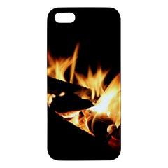 Bonfire Wood Night Hot Flame Heat Apple iPhone 5 Premium Hardshell Case