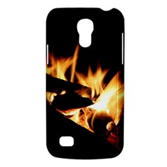 Bonfire Wood Night Hot Flame Heat Galaxy S4 Mini