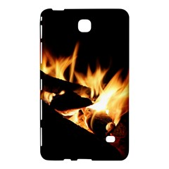 Bonfire Wood Night Hot Flame Heat Samsung Galaxy Tab 4 (8 ) Hardshell Case