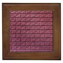 Brick Wall Brick Wall Framed Tiles