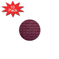 Brick Wall Brick Wall 1  Mini Buttons (10 Pack)