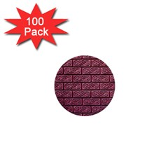 Brick Wall Brick Wall 1  Mini Buttons (100 Pack)