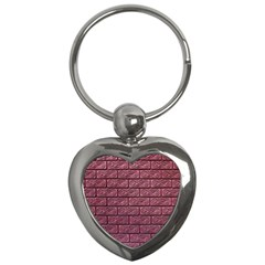 Brick Wall Brick Wall Key Chains (heart)