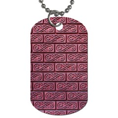 Brick Wall Brick Wall Dog Tag (one Side)