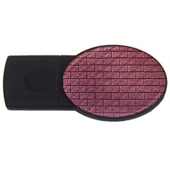 Brick Wall Brick Wall Usb Flash Drive Oval (2 Gb)