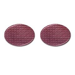 Brick Wall Brick Wall Cufflinks (oval)