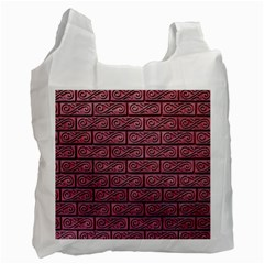 Brick Wall Brick Wall Recycle Bag (One Side)