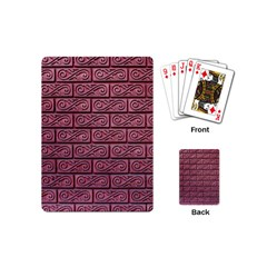 Brick Wall Brick Wall Playing Cards (mini)